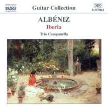 Isaac Albeniz (1860-1909): Iberia-Suite für 3 Gitarren, CD