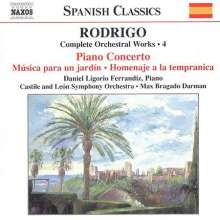 Joaquin Rodrigo (1902-1999): Orchesterwerke Vol.4, CD