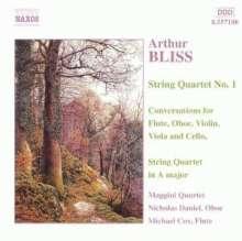 Arthur Bliss (1891-1975): Streichquartett Nr.1, CD