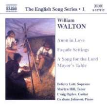 William Walton (1902-1983): Lieder, CD