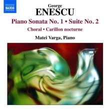 George Enescu (1881-1955): Klaviersonate op.24 Nr.1, CD