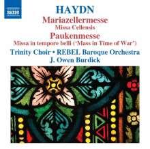 Joseph Haydn (1732-1809): Messen Nr.8 & 9 (Mariazellermesse & Paukenmesse), CD