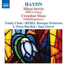 Joseph Haydn (1732-1809): Messen Nr.1 & 13 (Missa brevis & Schöpfungsmesse), CD