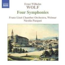 Ernst Wilhelm Wolf (1735-1792): Symphonien in C,D,Es,F, CD
