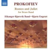 Serge Prokofieff (1891-1953): Romeo & Julia - Suiten (Ausz.) für Blechbläser, CD