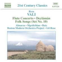 Reza Vali (geb. 1952): Flötenkonzert, CD