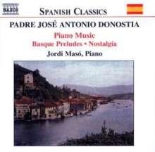 Aita Donostia (1886-1956): Klavierwerke, CD