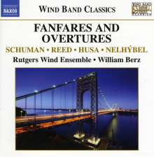 Rutgers Wind Ensemble - Fanfares & Overtures, CD