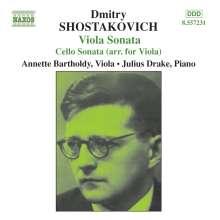 Dimitri Schostakowitsch (1906-1975): Sonate für Viola & Klavier op.147, CD