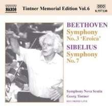 Georg Tintner Memorial Edition Vol.6, CD