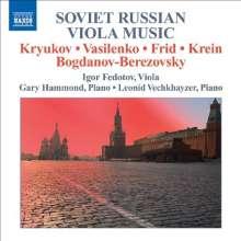 Igor Fedotov - Soviet Russian Viola Music, CD
