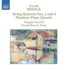 Frank Bridge (1879-1941): Streichquartette Nr.2 & 4, CD