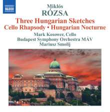 Miklós Rózsa (1907-1995): 3 Ungarische Skizzen, CD