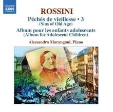 Gioacchino Rossini (1792-1868): Sämtliche Klavierwerke Vol.3, CD