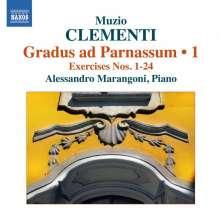 Muzio Clementi (1752-1832): Gradus ad Parnassum op.44 Vol.1, CD