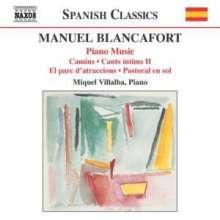 Manuel Blancafort (1897-1987): Sämtliche Klavierwerke Vol.3, CD