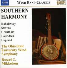 Ohio State University Wind Symphony - Southern Harmony, CD