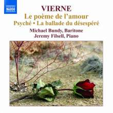 Louis Vierne (1870-1937): Le poeme de l'amour op.48, CD
