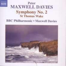 Peter Maxwell Davies (geb. 1934): Symphonie Nr.2, CD