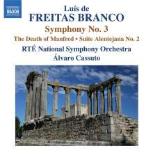 Luis de Freitas Branco (1890-1955): Symphonie Nr.3, CD