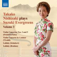 Takako Nishizaki - Suzuki Evergreens Vol.3, CD