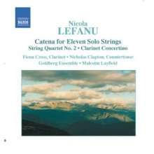 Nicola Lefanu (geb. 1947): Streichquartett Nr.2, CD
