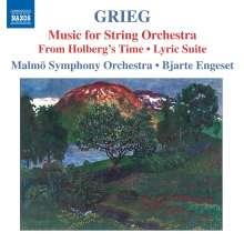 Edvard Grieg (1843-1907): Werke für Streichorchester, CD