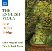 Enikö Magyar & Tadashi Imai - English Music for Viola, CD