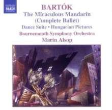 Bela Bartok (1881-1945): Der wunderbare Mandarin, CD