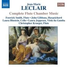 Jean Marie Leclair (1697-1764): Kammermusik mit Flöte, 2 CDs