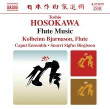"Toshio Hosokawa (geb. 1955): Kammermusik mit Flöte ""Flute Music"", CD"