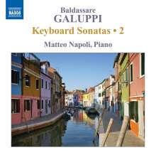 Baldassare Galuppi (1706-1785): Klaviersonaten Vol.2, CD