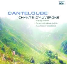 Joseph Canteloube (1879-1957): Lieder der Auvergne Vol.1, CD