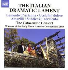 The Italian Dramatic Lament, CD