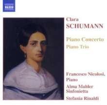 Clara Wieck-Schumann (1819-1896): Klavierkonzert Nr.1 op.7, CD