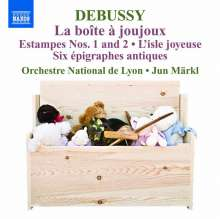 Claude Debussy (1862-1918): Orchesterwerke Vol.5, CD