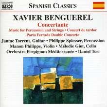 Xavier Benguerel (geb. 1931): Concertante für Gitarre & Orchester, CD