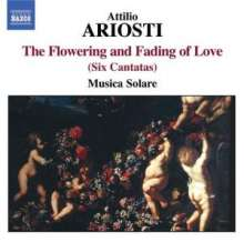 "Attilio Ariosti (1666-1729): Kantaten ""The Flowering & Fading of Love"", CD"