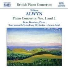 William Alwyn (1905-1985): Klavierkonzerte Nr.1 & 2, CD