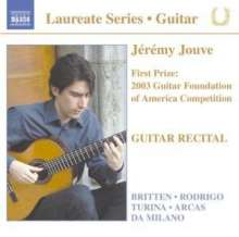 Jeremy Jouve - Guitar Recital, CD