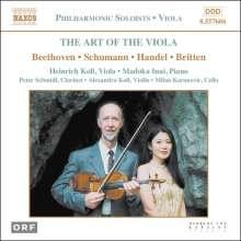 Heinrich Koll - The Art of The Viola, CD
