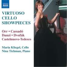 Maria Kliegel - Virtuoso Cello Showpieces, CD
