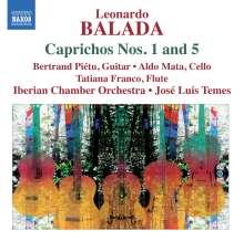 Leonardo Balada (geb. 1933): Caprichos Nr.1 & 5, CD