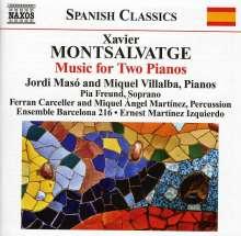 Xavier Montsalvatge (1912-2002): Klavierwerke Vol.3 - Werke für 2 Klaviere, CD
