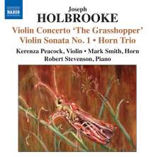Joseph Holbrooke (1878-1958): Violinsonaten Nr.1 & 2 op.6a & 59, CD