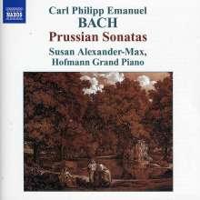 "Carl Philipp Emanuel Bach (1714-1788): Cembalosonaten Wq.48 Nr.1-6 ""Preussische"", CD"