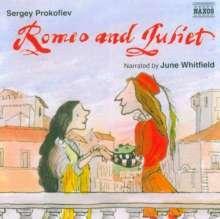 Serge Prokofieff (1891-1953): Romeo & Julia (erzählt in engl.Spr.), CD