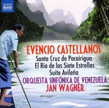 Evencio Castellanos (1915-1984): Orchesterwerke, CD