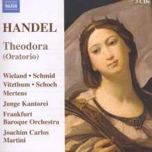 Georg Friedrich Händel (1685-1759): Theodora, 3 CDs