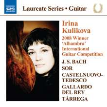 Irina Kulikova - Guitar Recital, CD